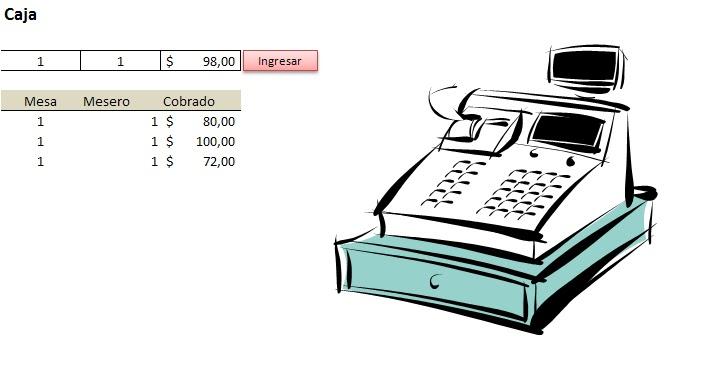mini aplicaciones en Excel: Gestor de Bares y Restos