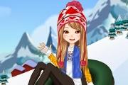 Kayak Yapan Kız