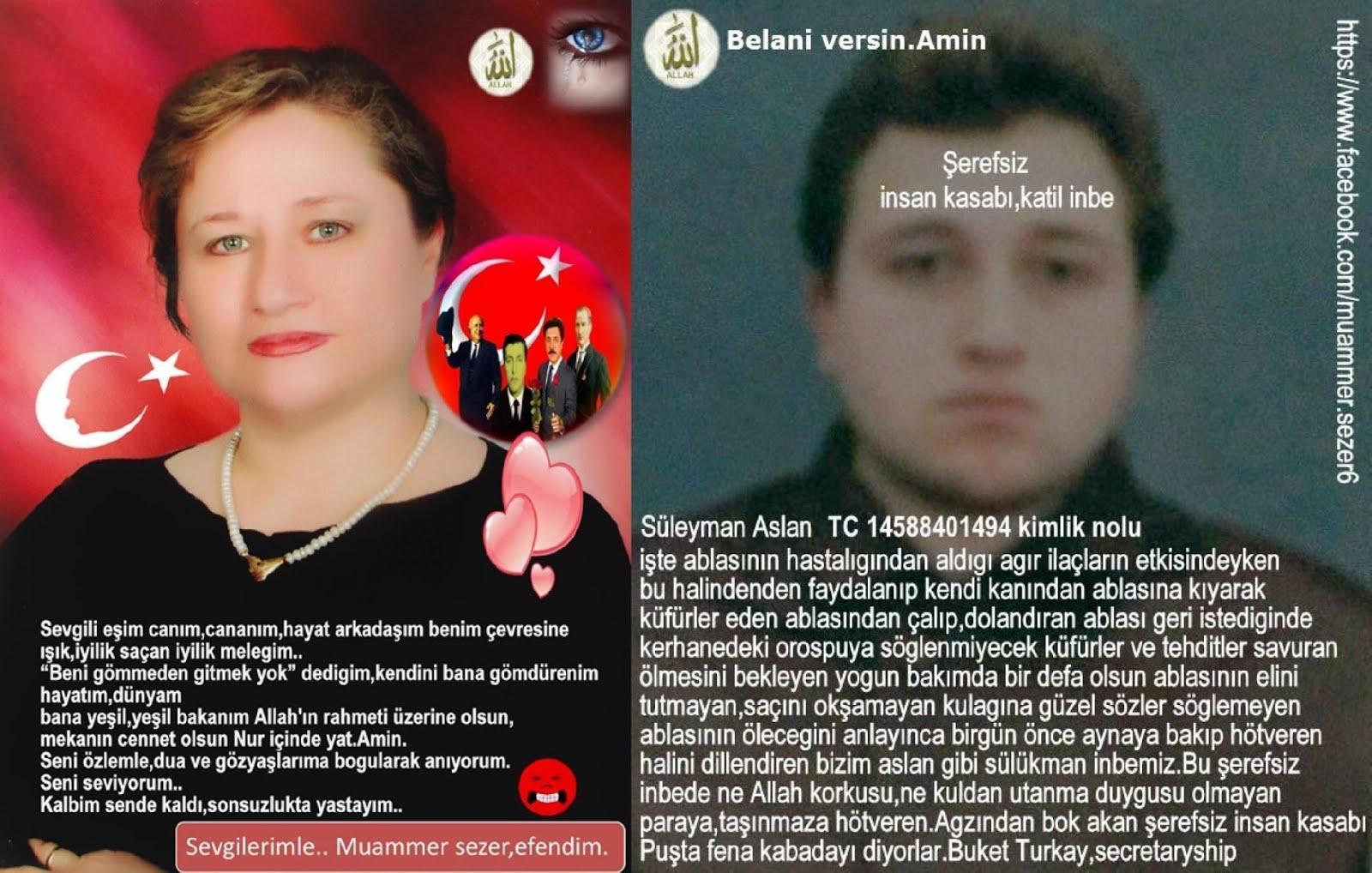 izmir'in aile destekli şeyi,teyze katili ile ortak yosması.Buket Turkay