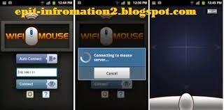 Cara Android jadi Mouse di PC atau Laptop