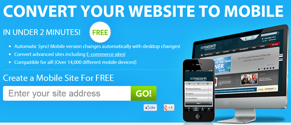 Make Your Site Mobile Ready With GinWiz