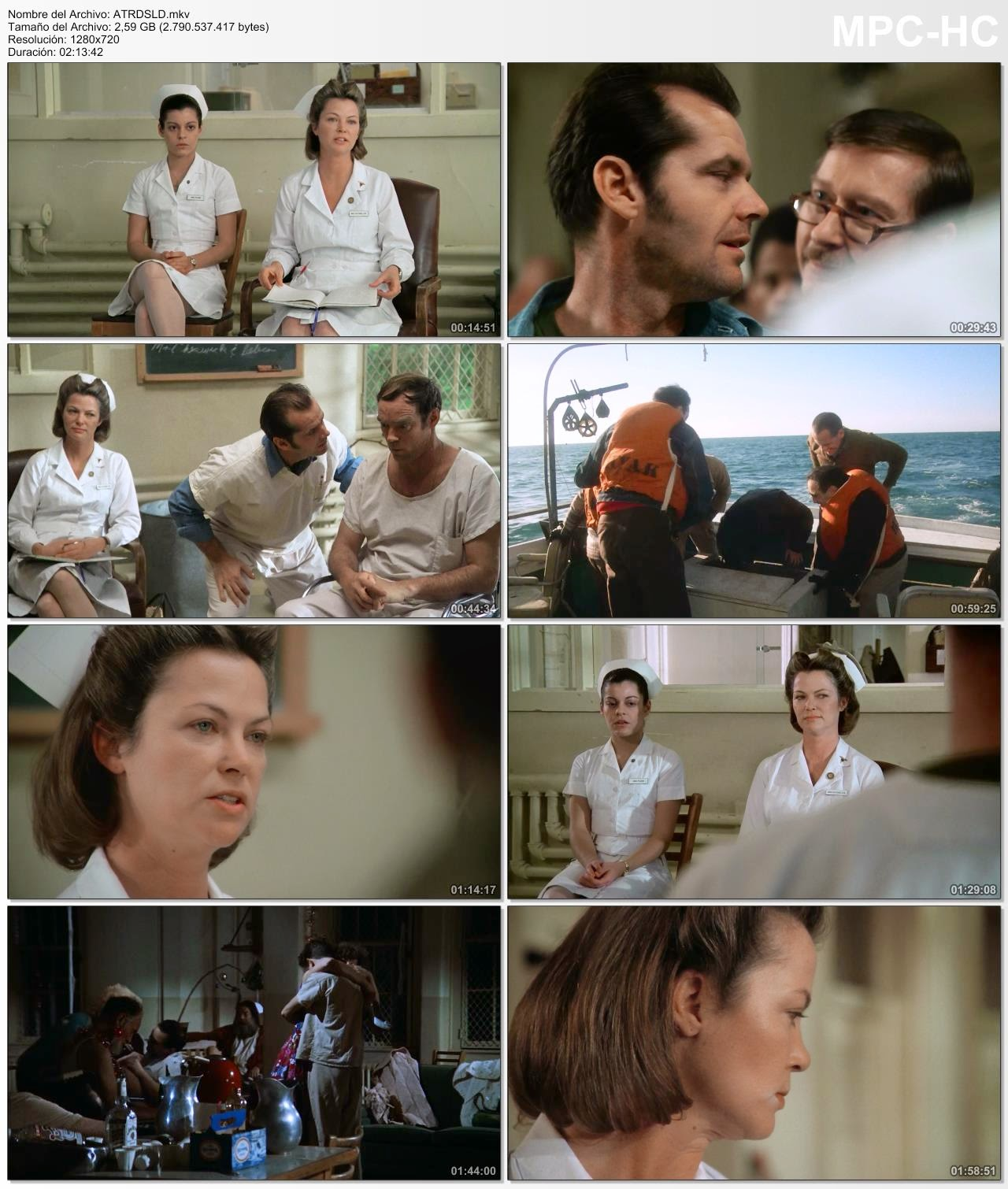 One Flew Over the Cuckoo's Nest (1975) BrRip Ing-Latino