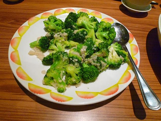 Brócoli con ajos