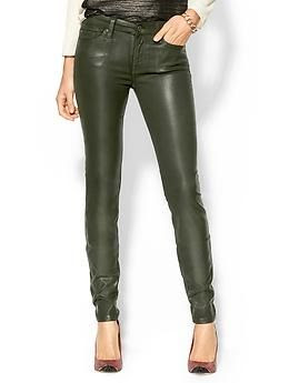 leather pants, skinny jeans, 7 for all mankind, brains of the outfit, fall 2013, fall trends