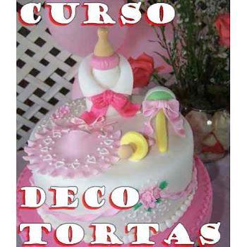CURSO DECORACION TORTAS Y CUPCAKES