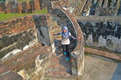 Bekas-bekas bangunan Kota kuno Banten Lama