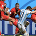 "Albicelestes contra ""Diablos Rojos"": Crónica del choque Argentina-Bélgica"