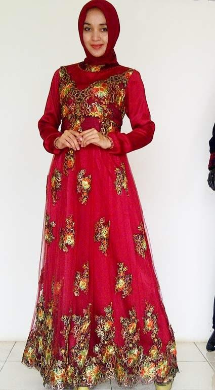 Foto Model Baju Kebaya Gamis Pesta