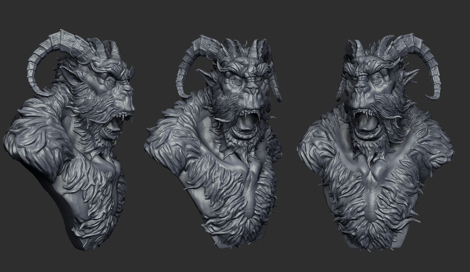 Tihomir dimitrov 3d creature sculpting workshop creatures for Createur 3d