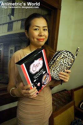 Charm Travel Pro Sonia Makeup Brush Set