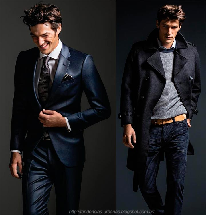 Giesso indumentaria masculina otoño invierno 2013