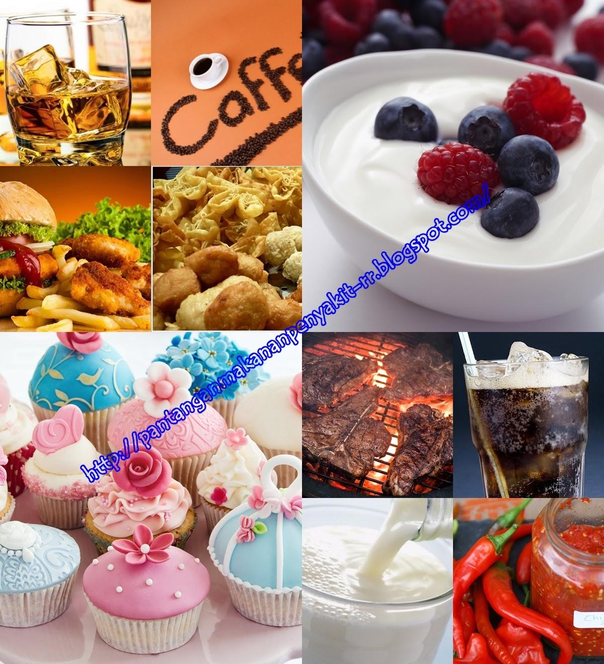 Pantangan Makanan Untuk Penderita Radang Tenggorokan