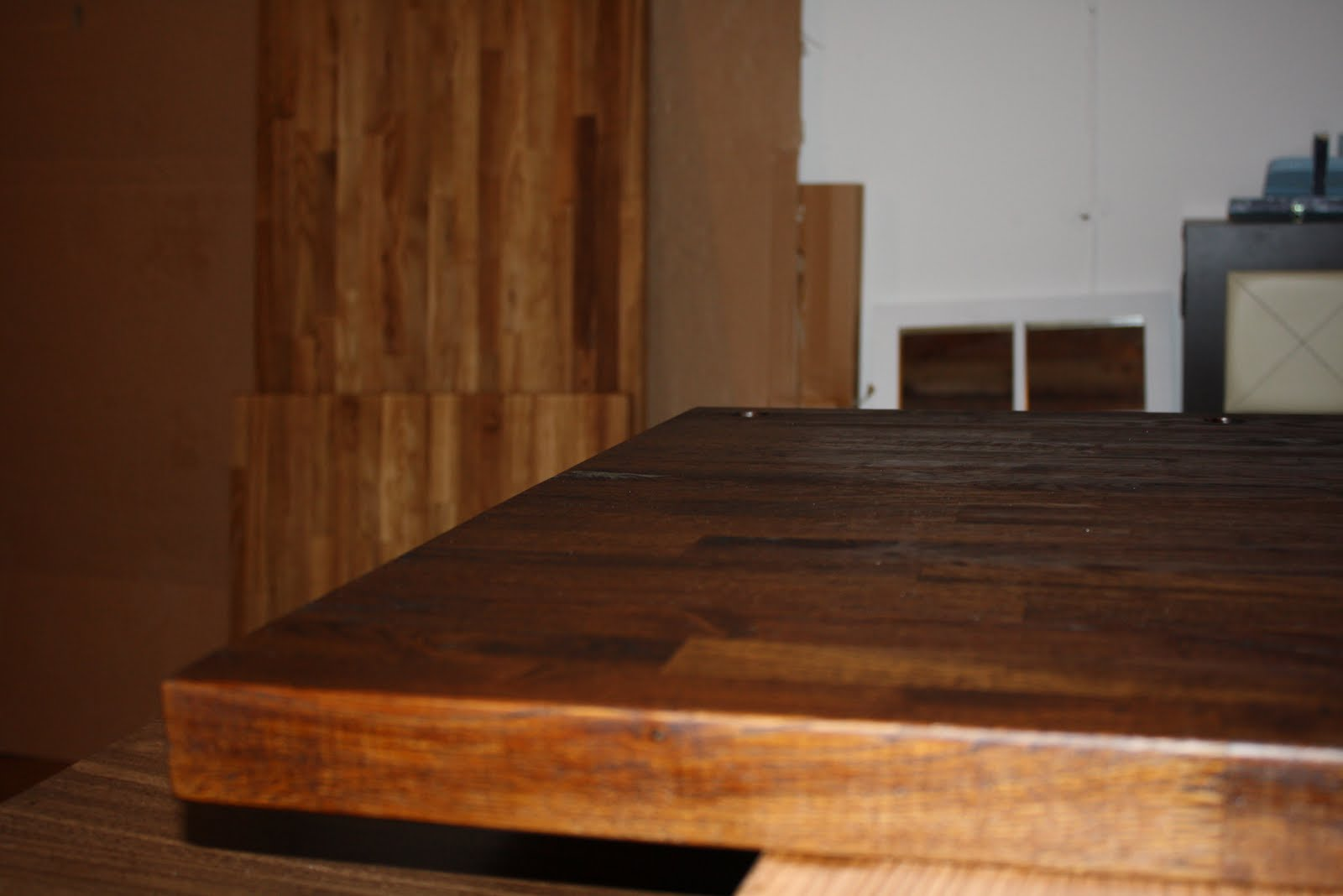 stillwater story how to stain butcher block countertops