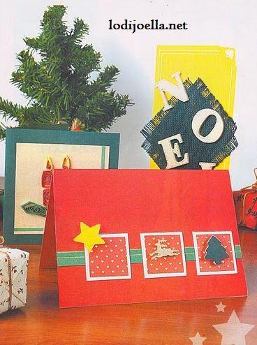 Tarjetas navide as f ciles de hacer lodijoella - Postales navidenas para hacer ...
