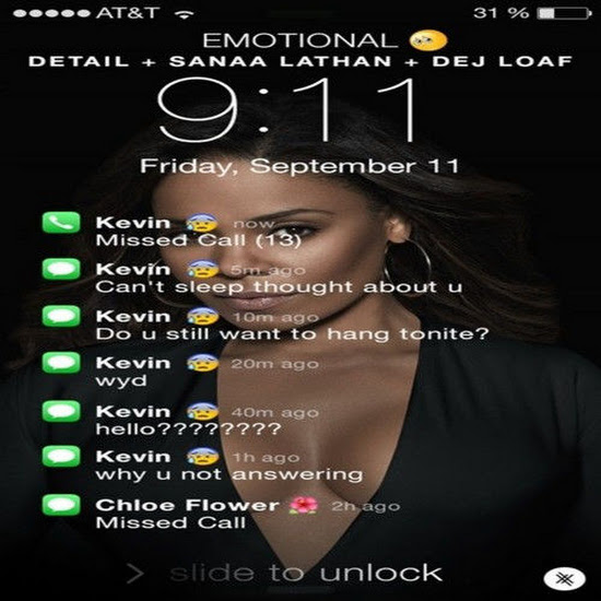 Sanaa Lathan - Emotional (Feat. Dej Loaf)