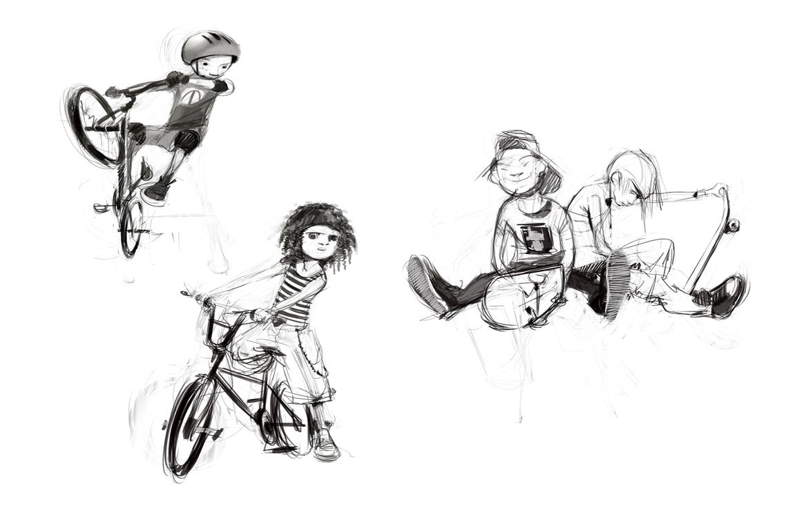 Urban Design Character Analysis : Character design urban kids juan cancelleri ilustrator