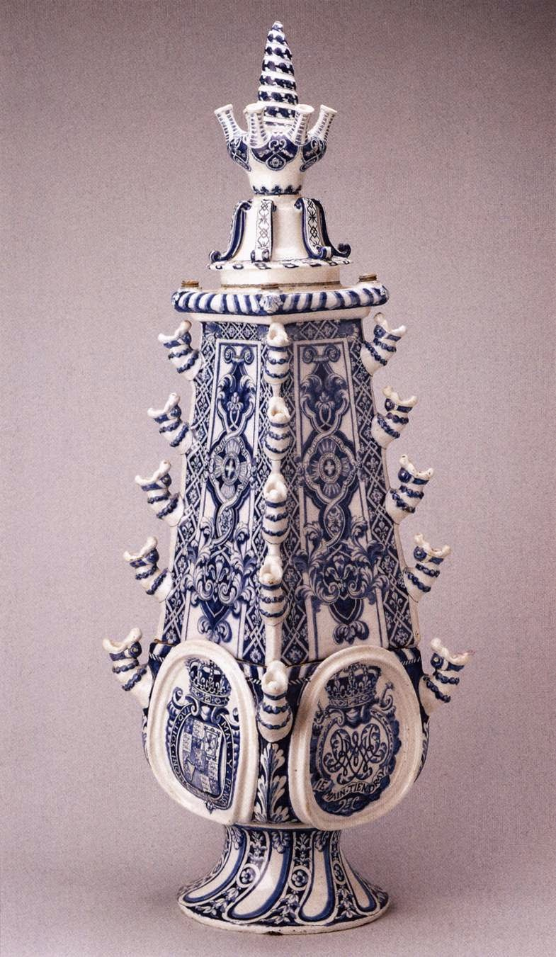 Art and architecture mainly dutch pottery tulips british earthenware vase from delft 1690 reviewsmspy