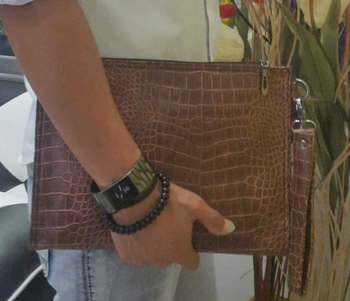 gambar clutch bag kulit buaya harga murah kualitas terbaik