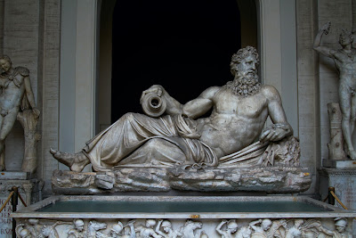 A Statue at the Museum - Vatican Museum