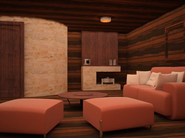 Dise o de espacios interiores propuesta para remodelaci n for Diseno de interiores de cabanas