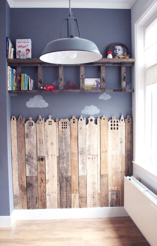 Home Decor Ideas Pallet Creative Corner For Your Child In Kids