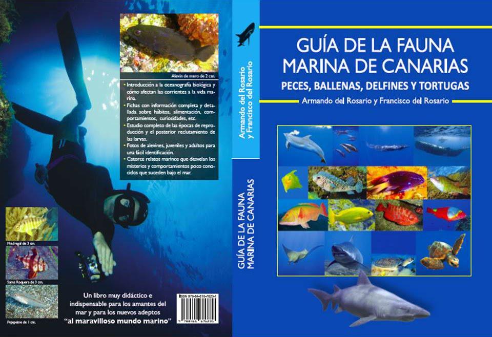 ¡¡NUEVA GUÍA DE LA FAUNA MARINA DE CANARIAS!! Haz click en la foto para más información.