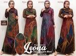 Baju Gamis Muslim Leona GC10C0 HABIS