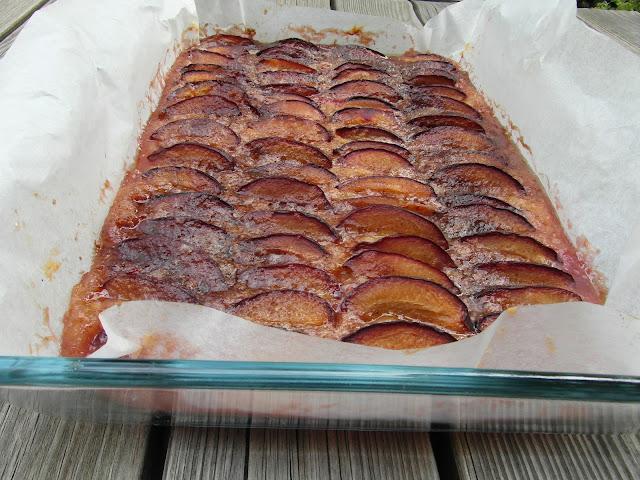gotowe ciasto śliwkowe