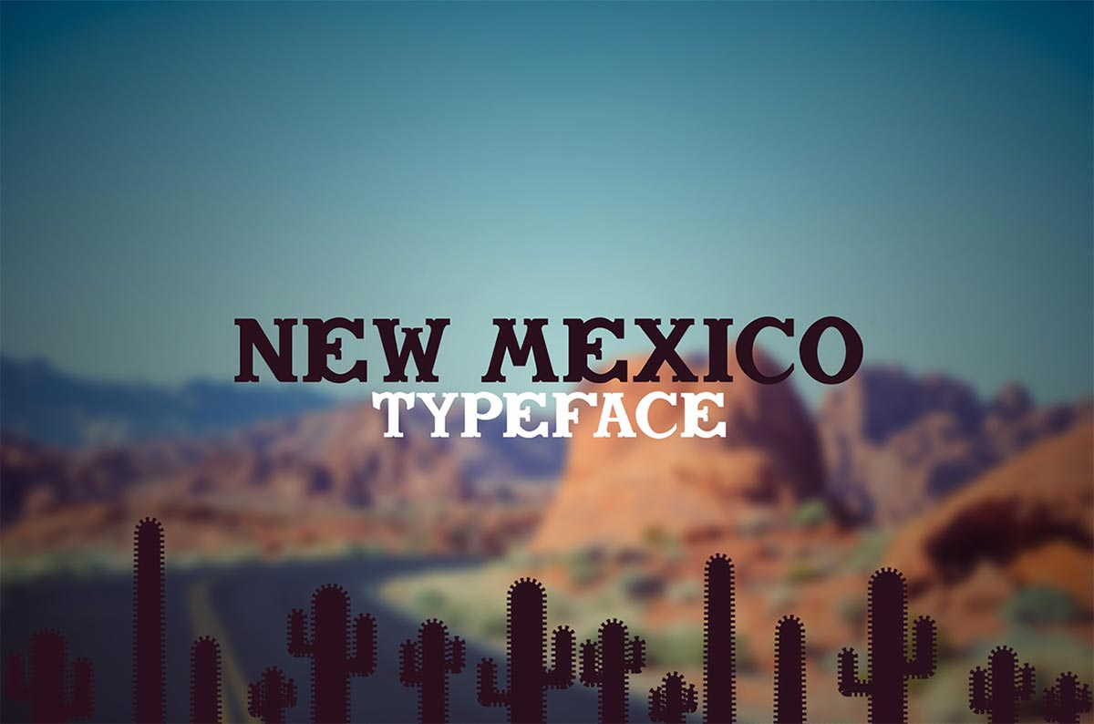 Download Gratis Font Terbaru September 2015 - New Mexico