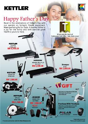 Kettler Father's Day Sale Offer END 30 JUN 2012