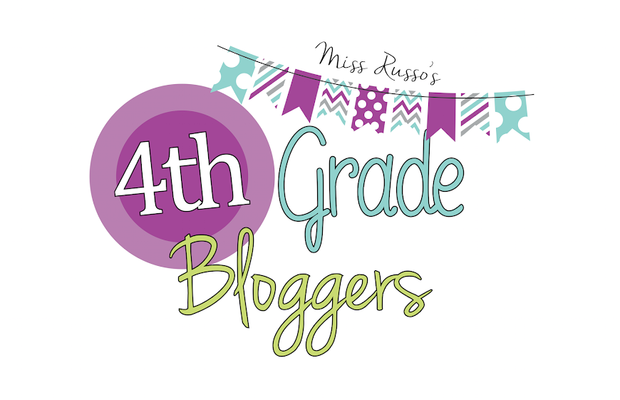 Miss Russo's Fourth Grade Bloggers