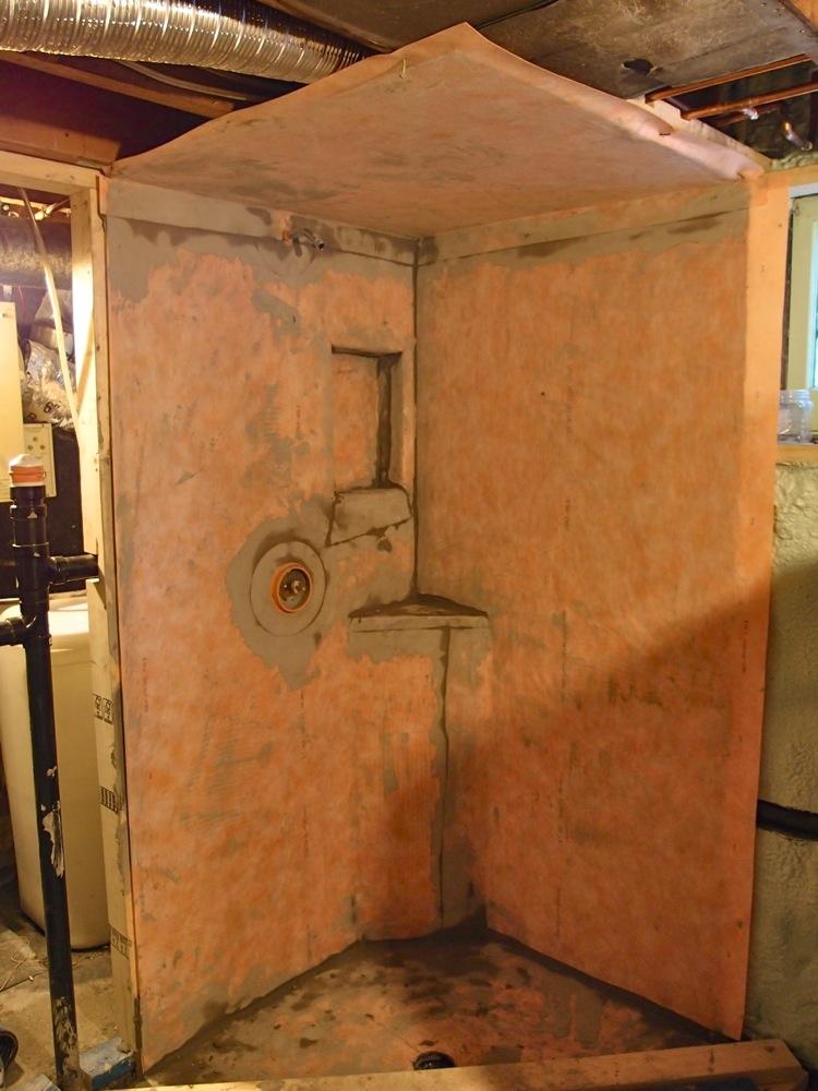 Day 173 Basement Bathroom Plumbed And Tiled