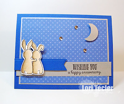 Wishing You a Happy Anniversary card-designed by Lori Tecler/Inking Aloud-stamps from WPlus9