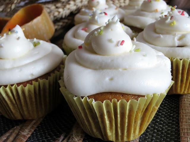 imagen de cupcakes de calabaza