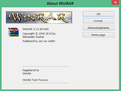 Download WinRAR v5.21 Keygen