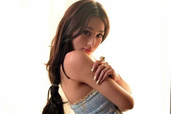 Girls Beauty Wallpaper Zhang Xinyu 44