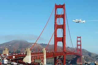 El Endervour sobrevolando San Francisco