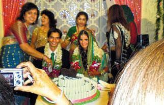 Sania mirza sohrab mirza wedding invitations
