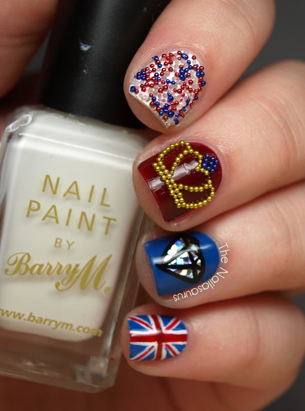 Diamond Jubilee Nails