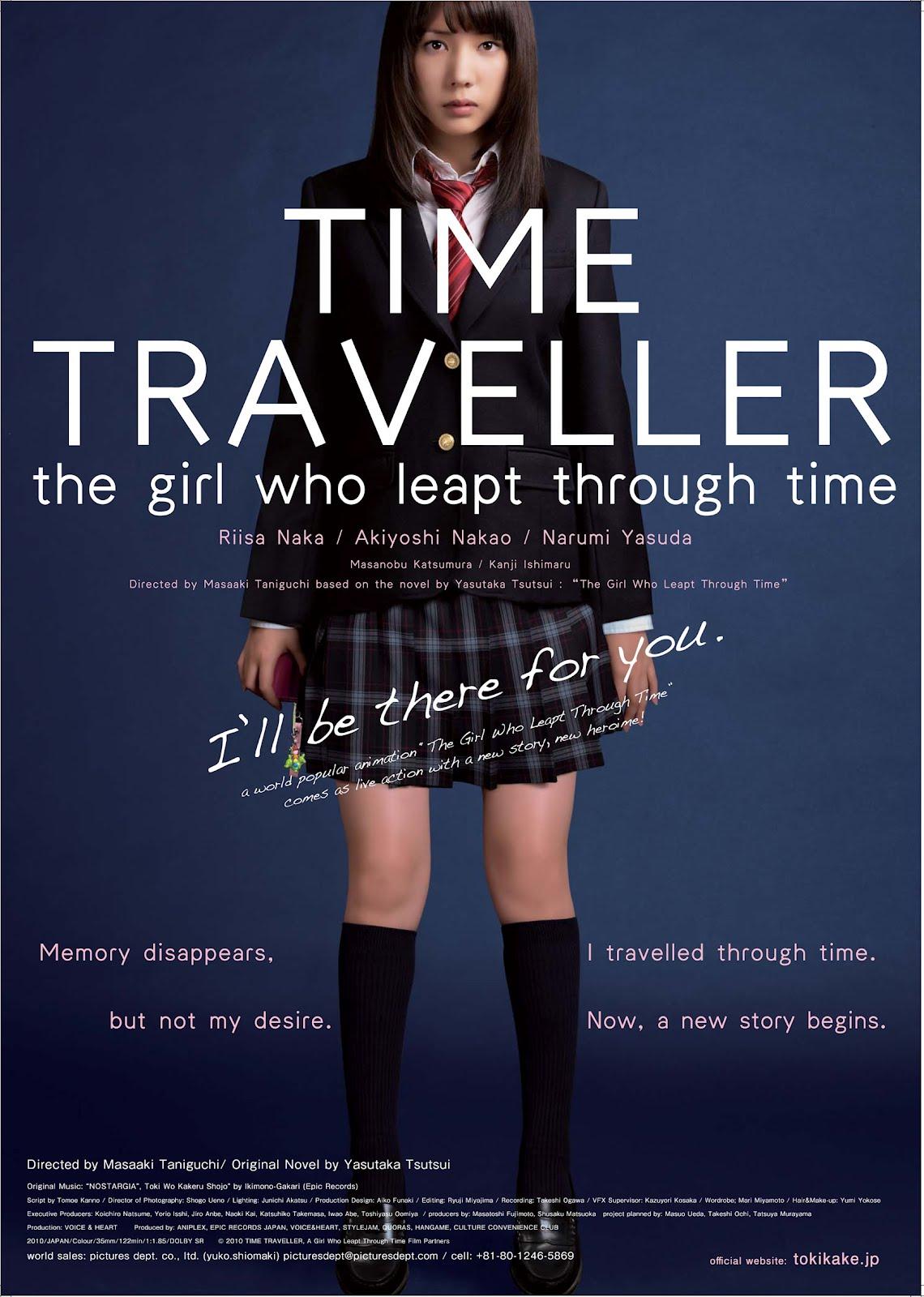 Девочка Покорившая Время фильм 2010