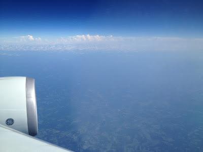 Vuelo KLM Amsterdam - México // Sobrevolando Estados Unidos