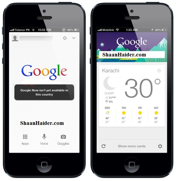 HOW TO : Get Google Now Outside USA on iPhone and iPad