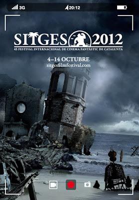 Cartel del Festival de Sitges 2012. Listado de ganadores. Making Of