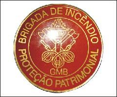 BRINDES BOTONS RESINADOS EM AÇO INOX BRIGADA DE INCÊNDIO GMB SÃO PAULO-SP