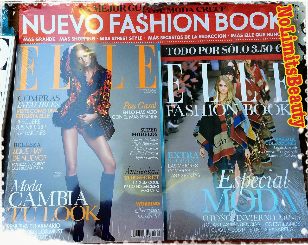 Regalos revistas septiembre 2014: Elle
