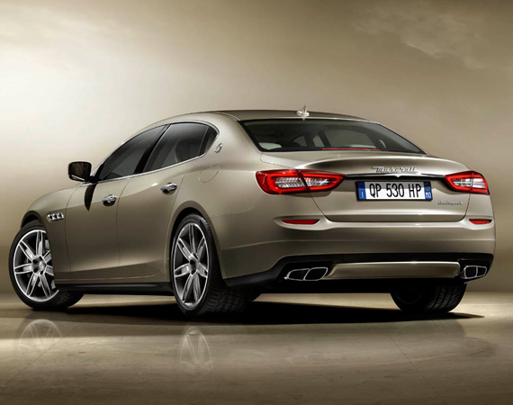 2013 MASERATI QUATTROPORTE V8 PERFORMANCE SEDAN  DESIGN - EXTERIOR