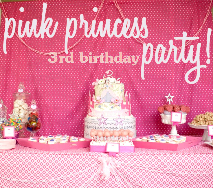Kara's Party Ideas Pink Princess Party