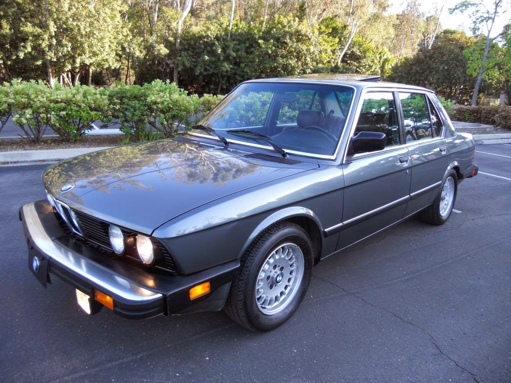 Daily Turismo: 5k: Vintage E28: 1985 BMW 535i