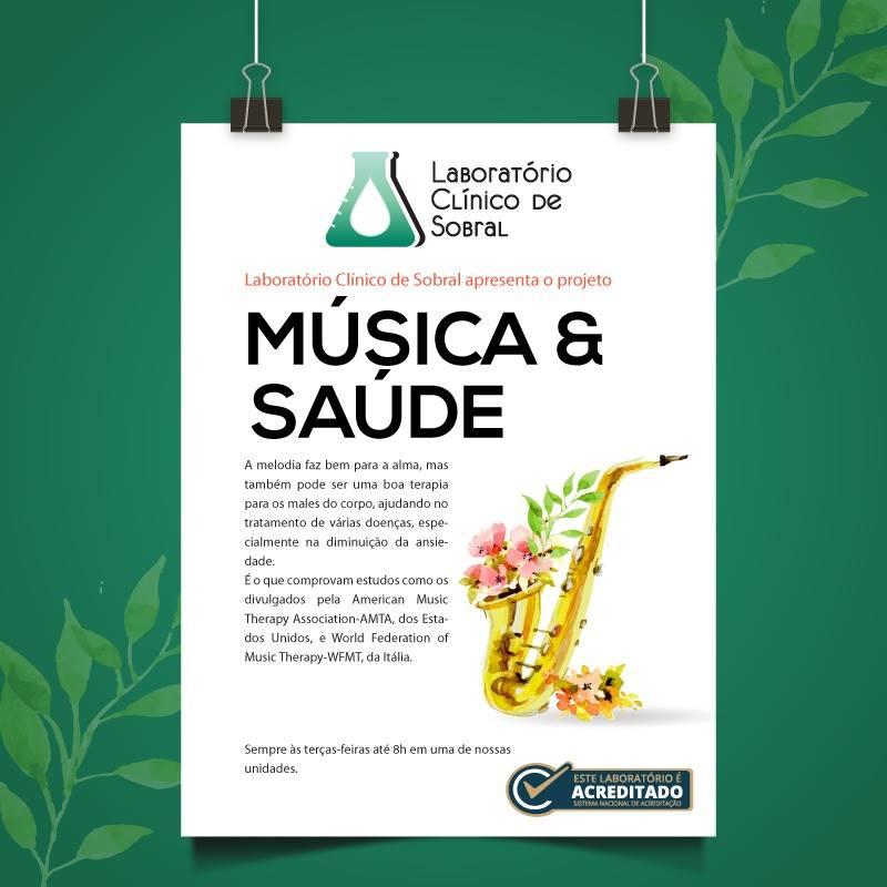 LABORATÓRIO CLÍNICO DE SOBRAL - MÚSICA E SAÚDE