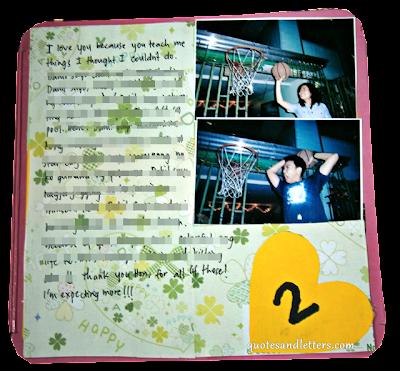 anniversary letter